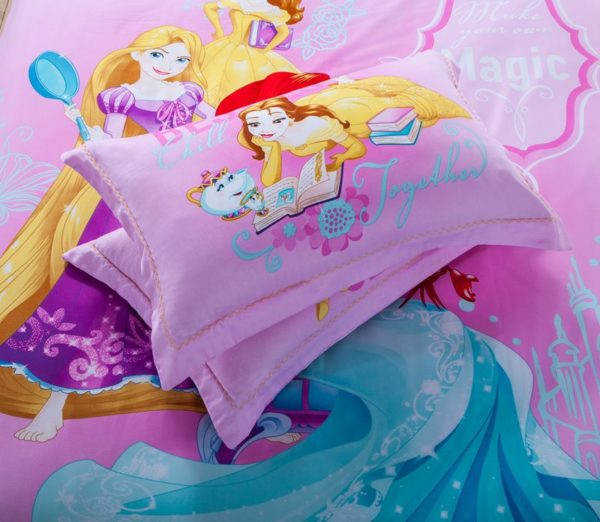 Teen Girls Princess Comforter Set Twin Queen Size 5 600x522 - Teen Girls Princess Comforter Set Twin Queen Size