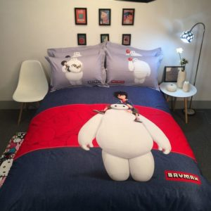 The Big Hero 6 Character Baymax Bedding Set
