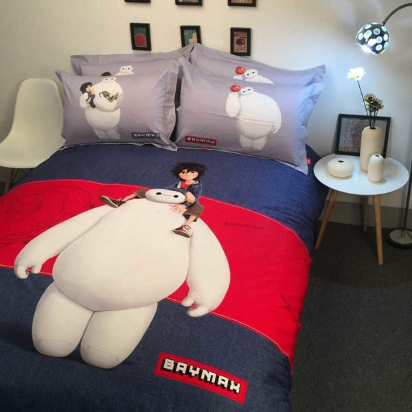 The Big Hero 6 Character Baymax Bedding Set