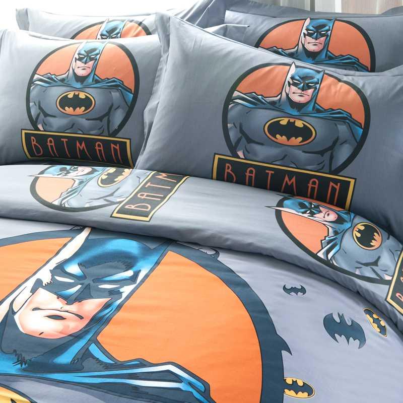 Youth Kids Bedroom Batman Dark Knight Twin Size Platform: The Dark Knight Rises Batman Bedding Set