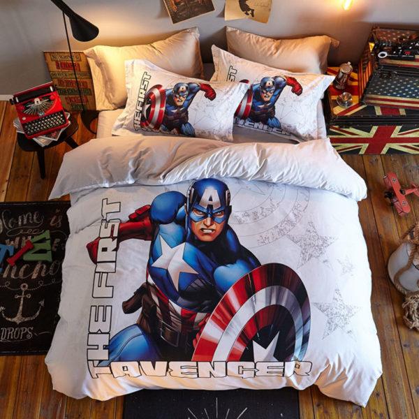The First Avenger Captain America Bedding Set
