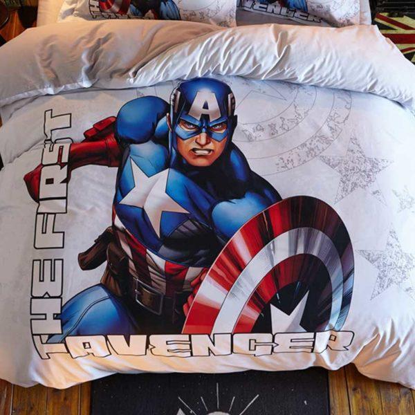 The First Avenger Captain America Bedding Set 5