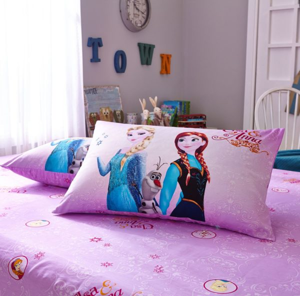 Thistle color frozen themed bedding set 6 600x592 - Thistle Color Frozen Themed Bedding Set