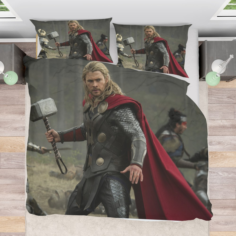 Thor The Dark World Chris Hemsworth Bedding Set Ebeddingsets