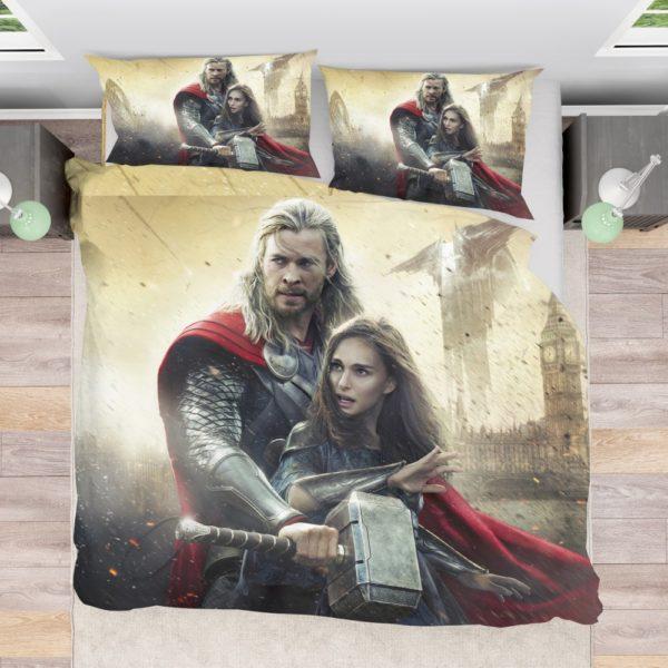 Thor the Dark World Chris Hemsworth Jane Foster Bedding Set