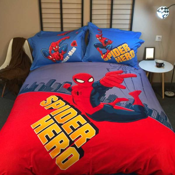 Ultra Cool Amazin Spider Man Teen Bedding Set