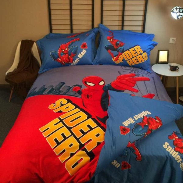Ultra Cool Amazin Spider Man Teen Bedding Set 5