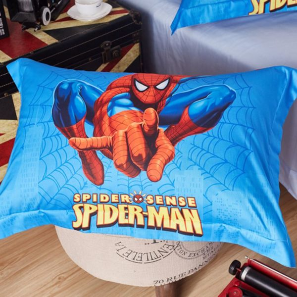 Visually Appearing Spider Man Super Hero Bedding Set 6 600x600 - Visually Appearing Spider Man Super Hero Bedding Set