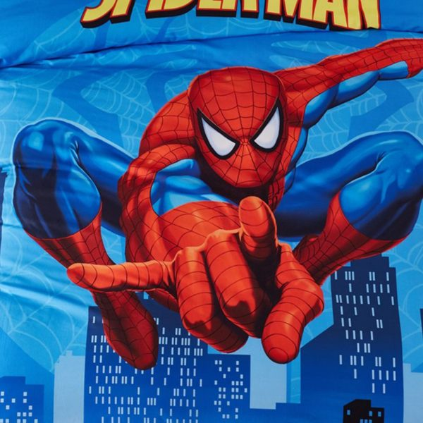 Visually Appearing Spider Man Super Hero Bedding Set 7 600x600 - Visually Appearing Spider Man Super Hero Bedding Set