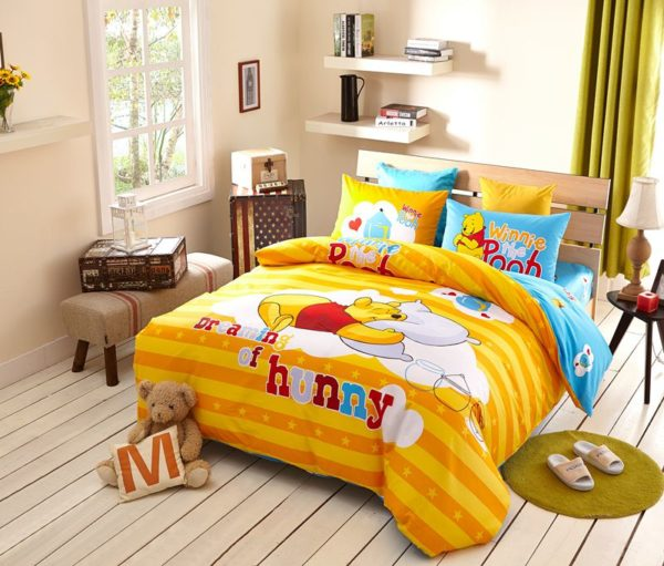 Winnie The Pooh Dreaming Of Honey Bedding Set 1
