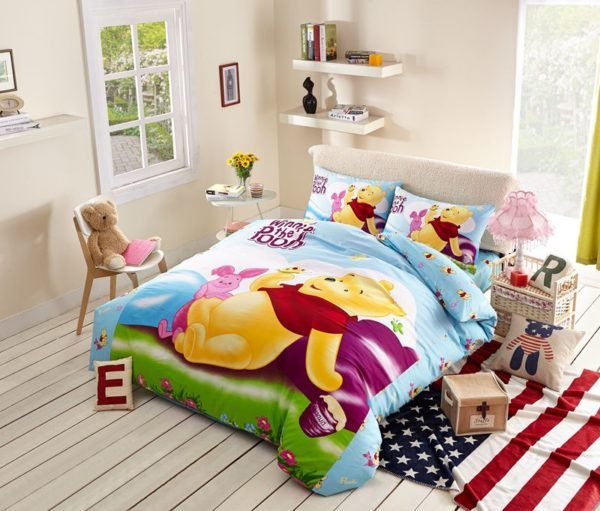Winnie the Pooh and Piglet Disney Bedding Set 1 600x511 - Winnie the Pooh and Piglet Disney Bedding Set
