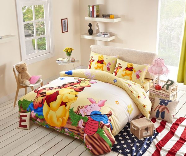 Winnie the Pooh and Tigger Disney Bedding Set 1