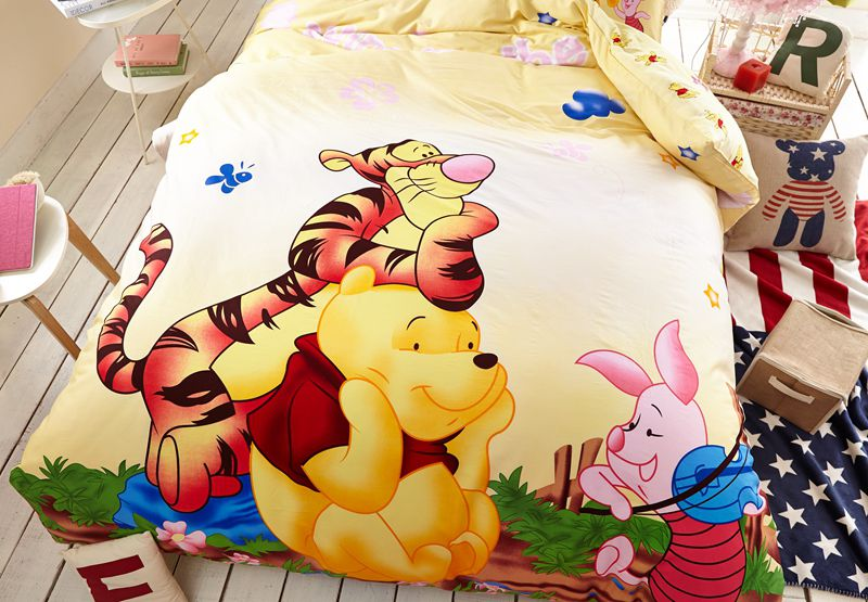 Winnie The Pooh And Tigger Disney Bedding Set Ebeddingsets