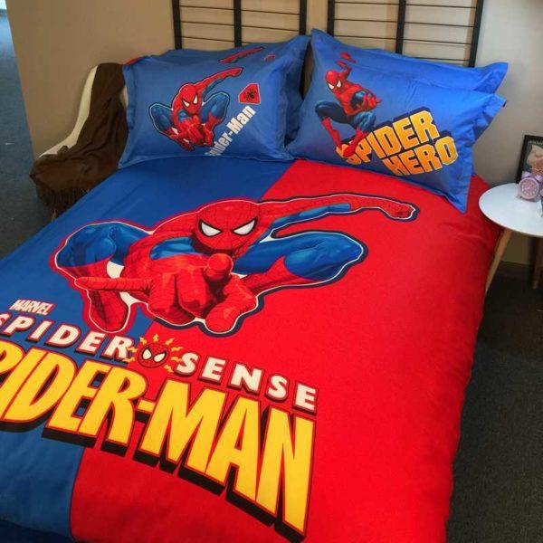 Youthful Spider Sense Spider Man Bedding Set 2