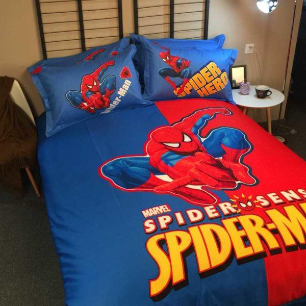 Youthful Spider Sense Spider Man Bedding Set 3