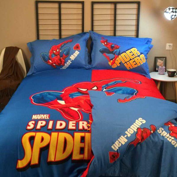 Youthful Spider Sense Spider Man Bedding Set 7