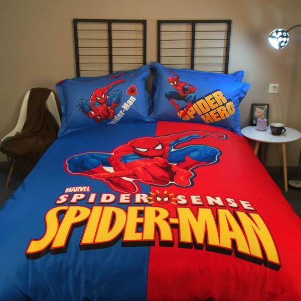 Youthful Spider Sense Spider Man Bedding Set
