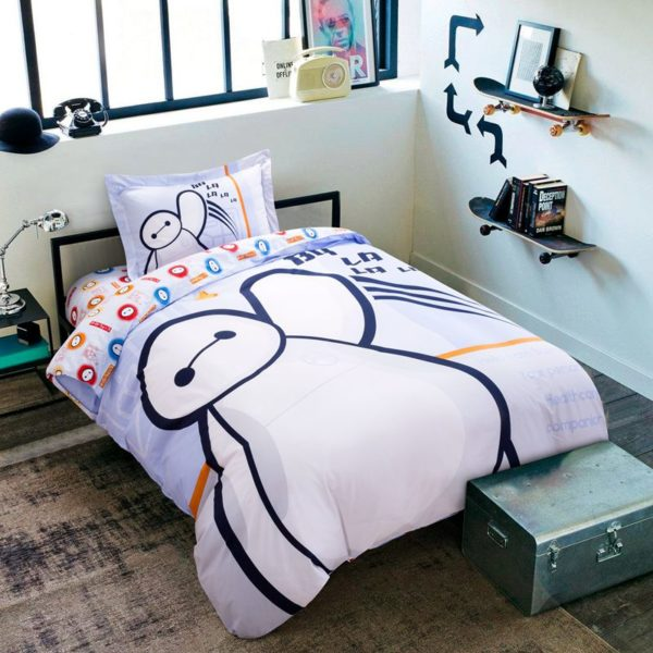 big hero 6 heroic bedding Set Twin Queen Size 1 600x600 - Big Hero 6 Heroic Bedding Set Twin Queen Size