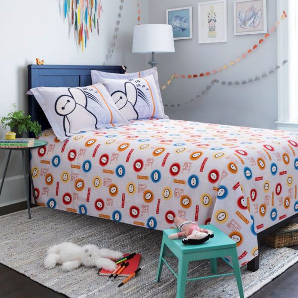 big hero 6 heroic bedding Set Twin Queen Size 12 600x600 - Big Hero 6 Heroic Bedding Set Twin Queen Size
