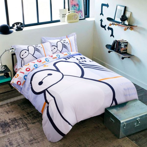 Big Hero 6 Heroic Bedding Set Twin Queen Size
