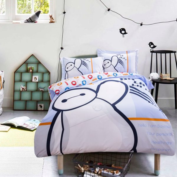 big hero 6 heroic bedding Set Twin Queen Size 2 600x600 - Big Hero 6 Heroic Bedding Set Twin Queen Size