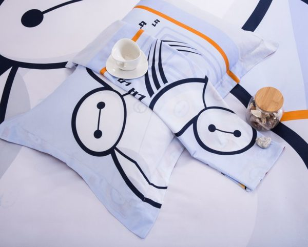 big hero 6 heroic bedding Set Twin Queen Size 4 600x482 - Big Hero 6 Heroic Bedding Set Twin Queen Size