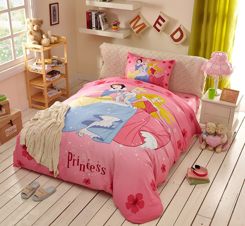 Disney Princess Bed Sheets Set Twin Queen Size 1 600x553   Disney Princess  Bed Sheets Set