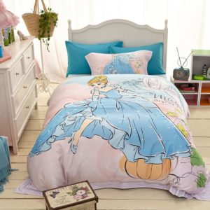 Disney Princess Cinderella Movie Themed Bedding Set