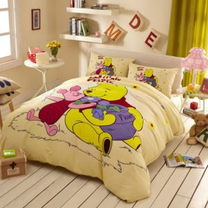 Disney Winnie the Pooh and Piglet Bedding Birthday Gift
