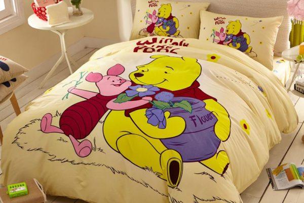 disney winnie the pooh and piglet Bedding Birthday gift 3 600x400 - Disney Winnie the Pooh and Piglet Bedding Birthday Gift