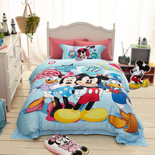 mickey mouse and friends bedding Set 1
