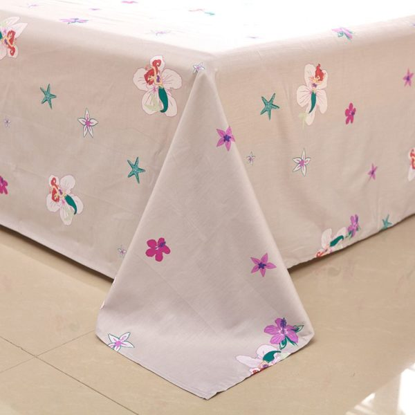 princess mermaid Comforter Set 10 600x600 - Princess Mermaid Comforter Set