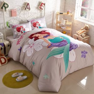 Princess Mermaid Comforter Set