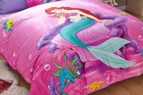 the little mermaid movie Princess Ariel Bedding set 2