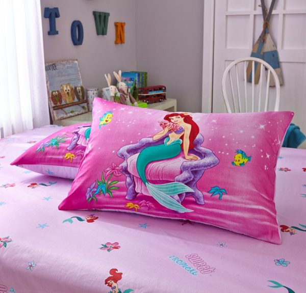 the little mermaid movie Princess Ariel Bedding set 6
