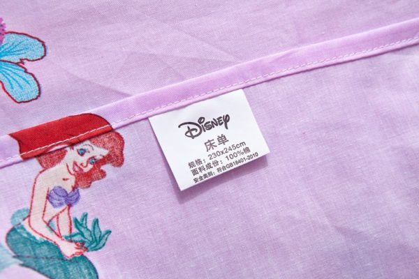 the little mermaid movie Princess Ariel Bedding set 7