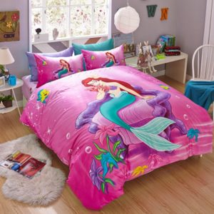 The Little Mermaid Movie Princess Ariel Bedding Set