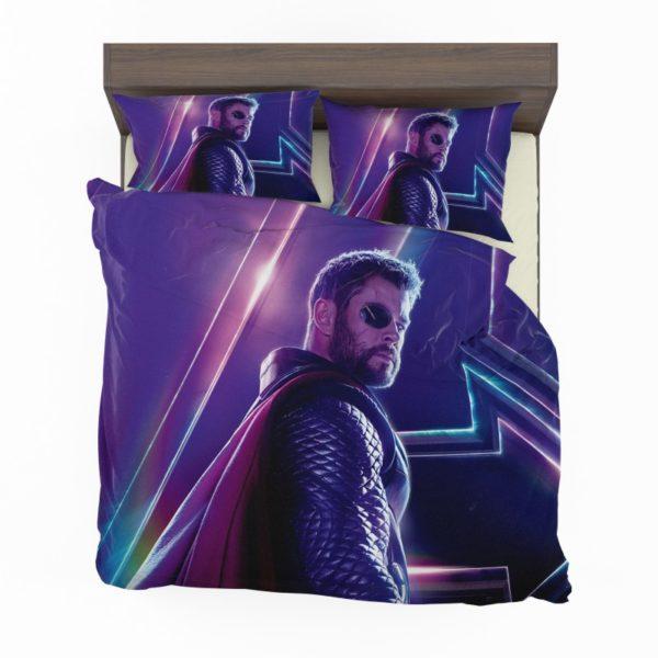 Avengers Infinity War Chris Hemsworth Thor Comforter Set2