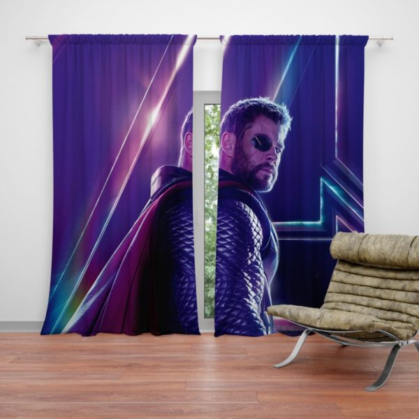 Avengers Infinity War Chris Hemsworth Thor Curtain
