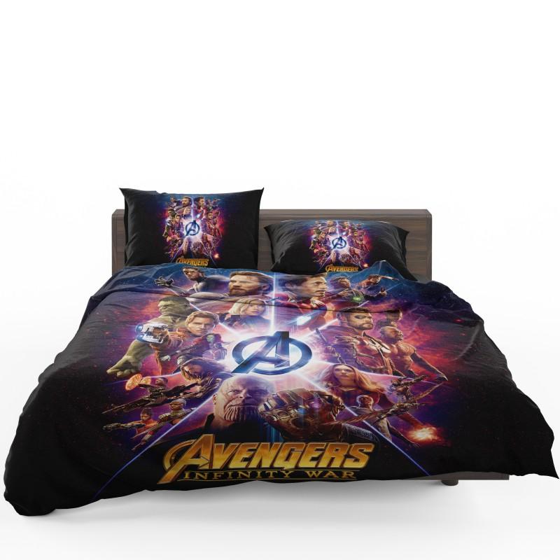 Avengers Infinity War Marvel Comic Movie Bedding Set