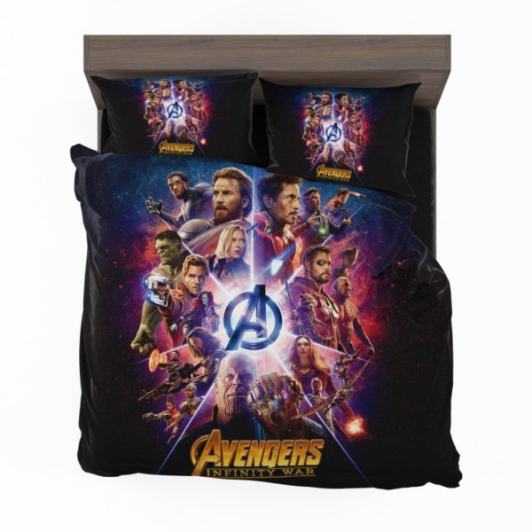 Avengers Infinity War Marvel Comic Movie Bedding Set2