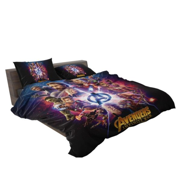 Avengers Infinity War Marvel Comic Movie Bedding Set3