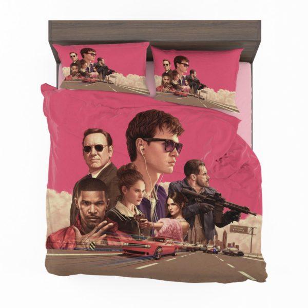Baby Driver Movie Kids Bedding Set2