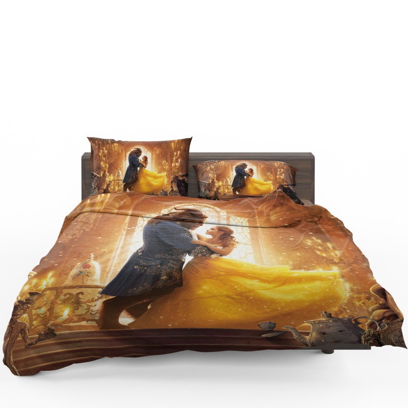 King Size Bed Set Beauty And The Beast