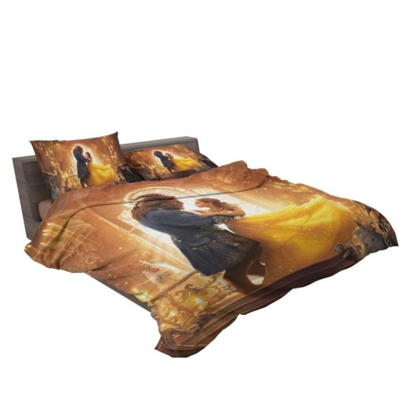 Beauty and the Beast Movie Bedding Set3