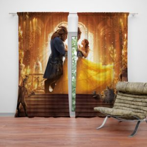 Beauty and the Beast Movie Curtain