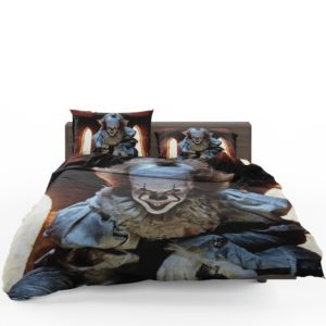 bedding sets, Bill Skarsgard Pennywise Clown It Bedding Set