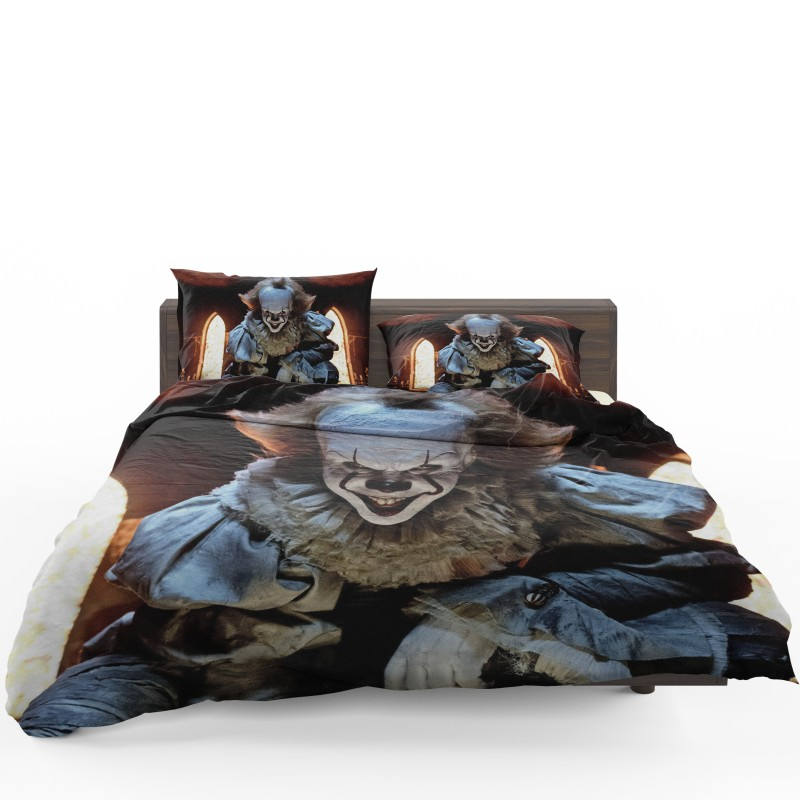 cf4d692939 Bill Skarsgard Pennywise Clown It Bedding Set