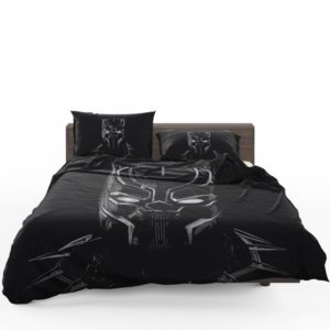 Black Panther Artwork Movie Bedding Set