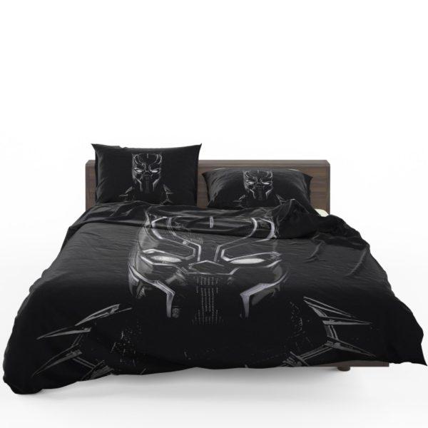 Black Panther Artwork Movie Bedding Set